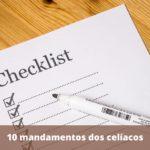 Dez mandamentos dos celíacos